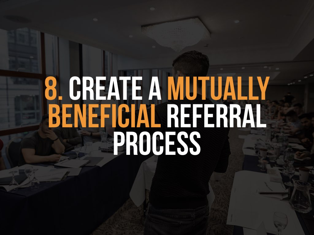How to grow sales with a referral process