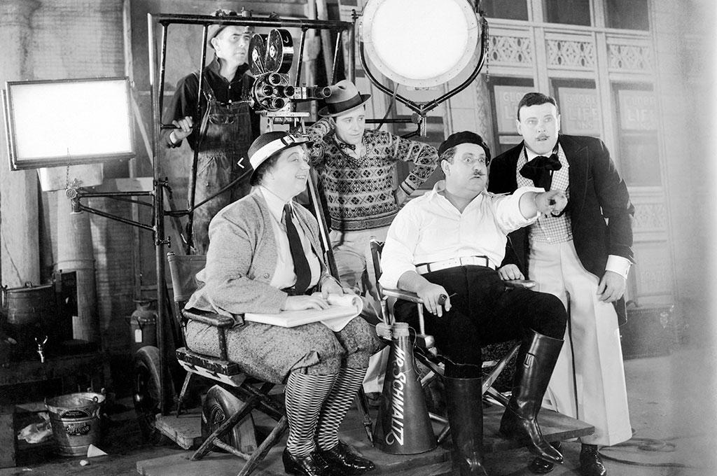Filmmaking from a bygone era