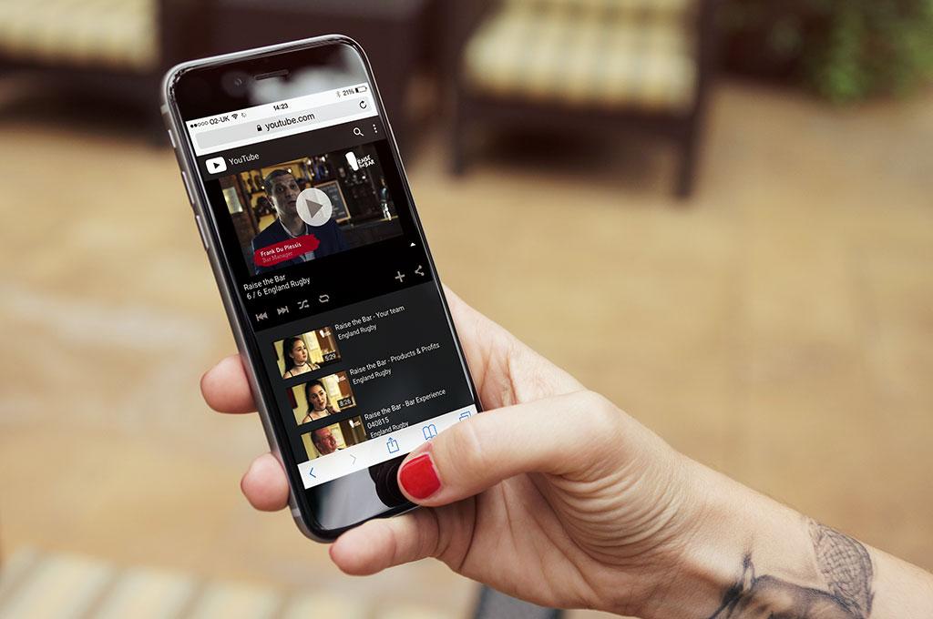 RFU videos shown on iPhone