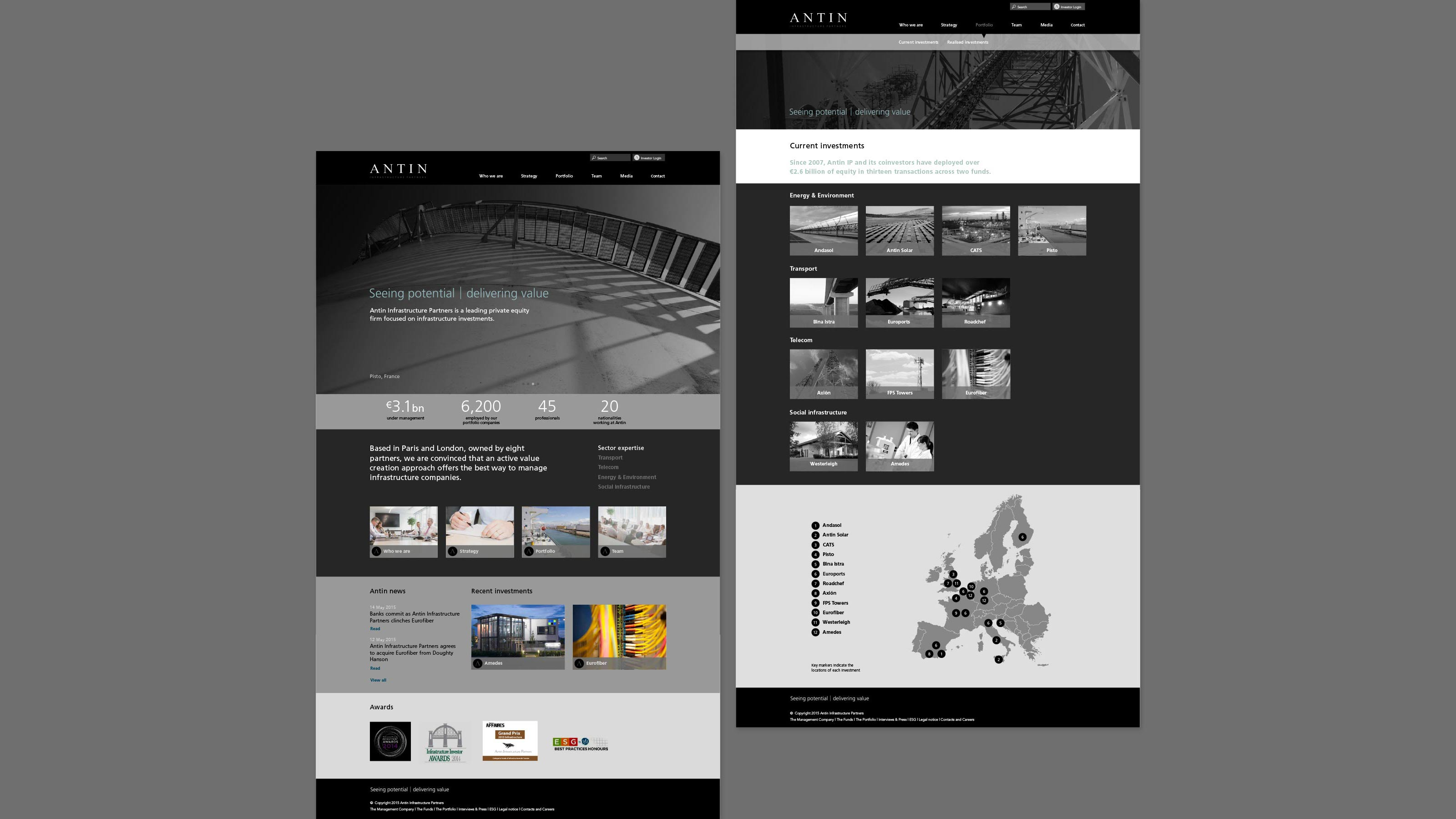 Digital web design Antin