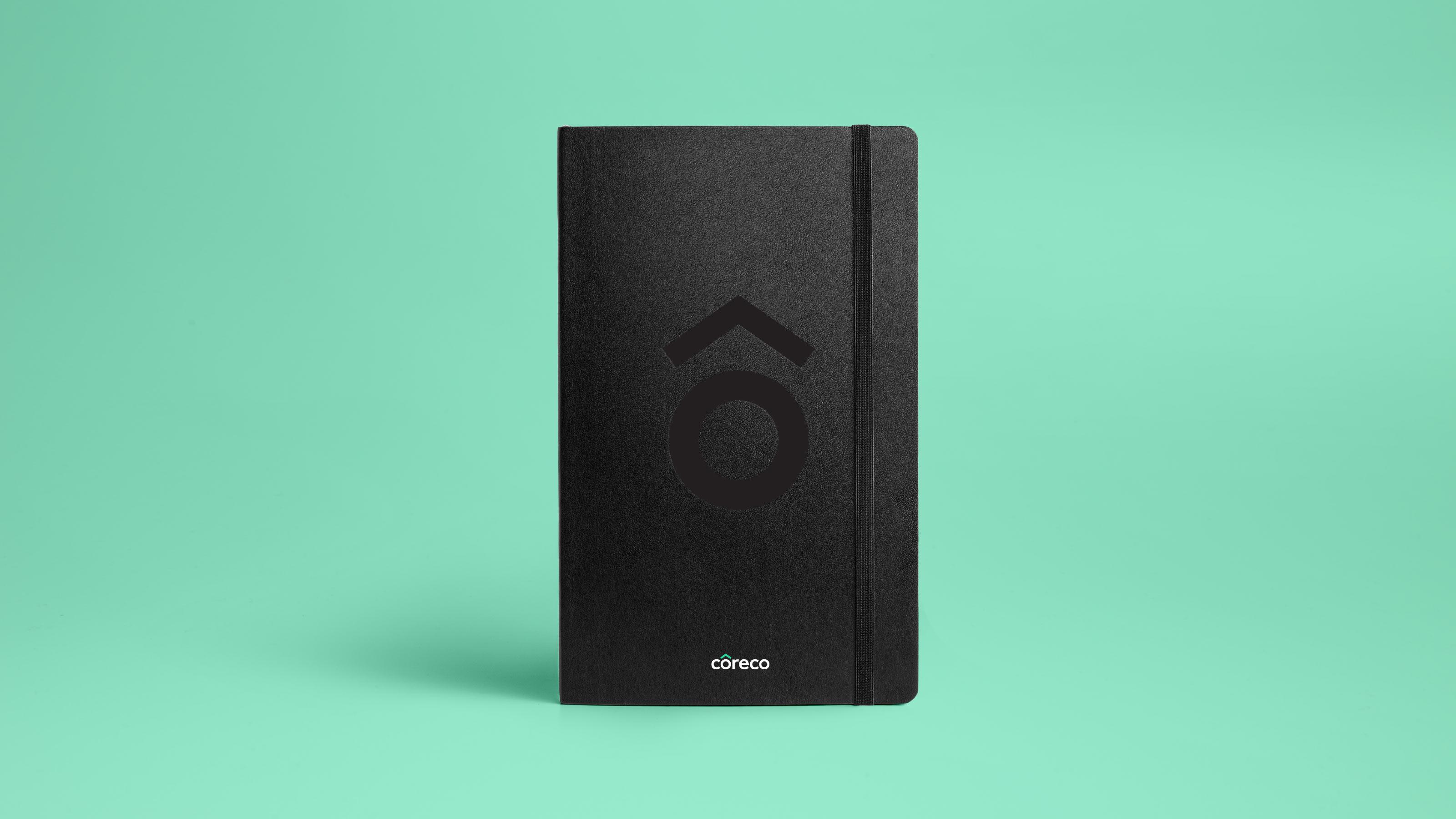 Brand logo notebook Coreco