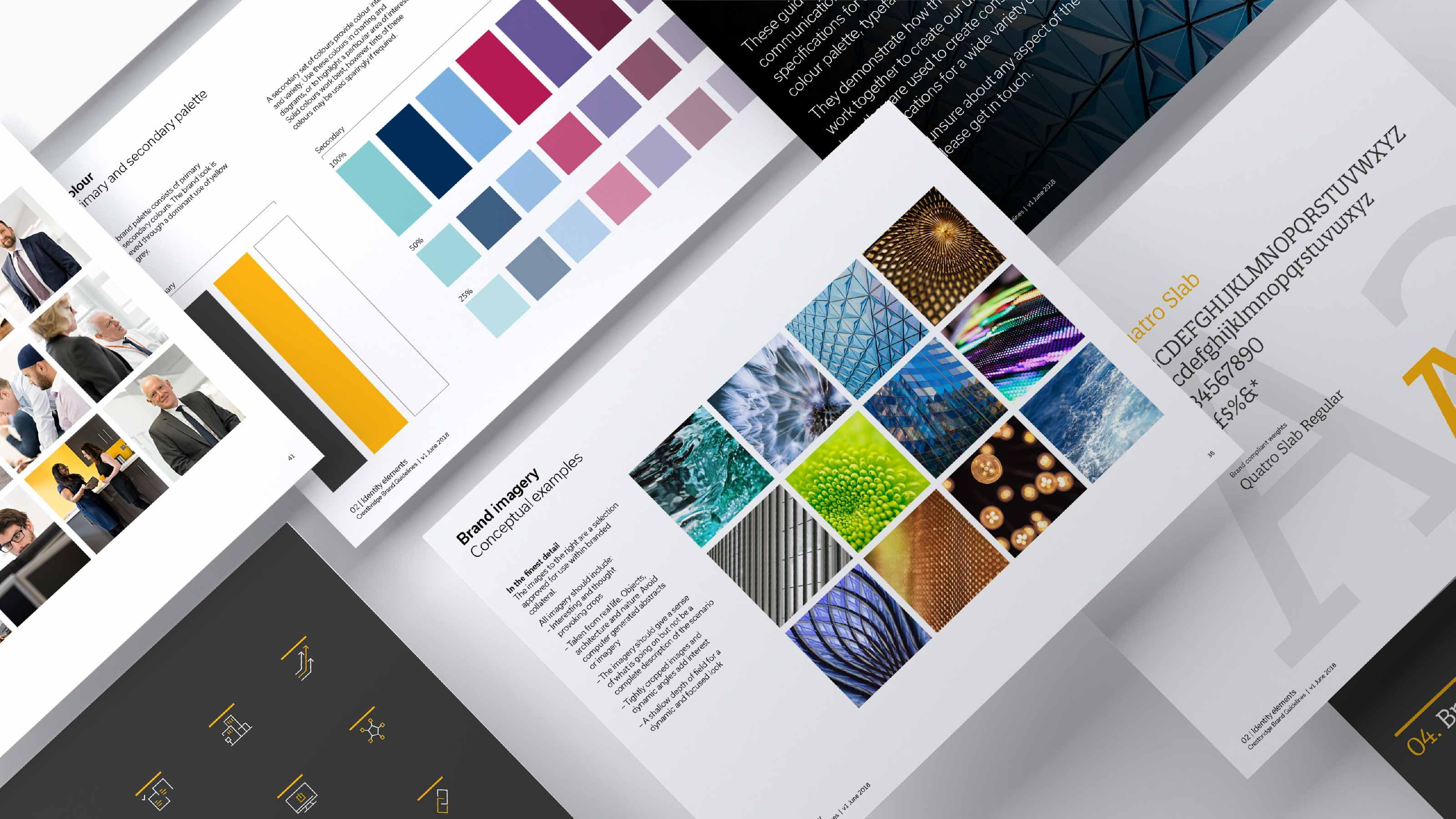 Brand brandbook Crestbridge