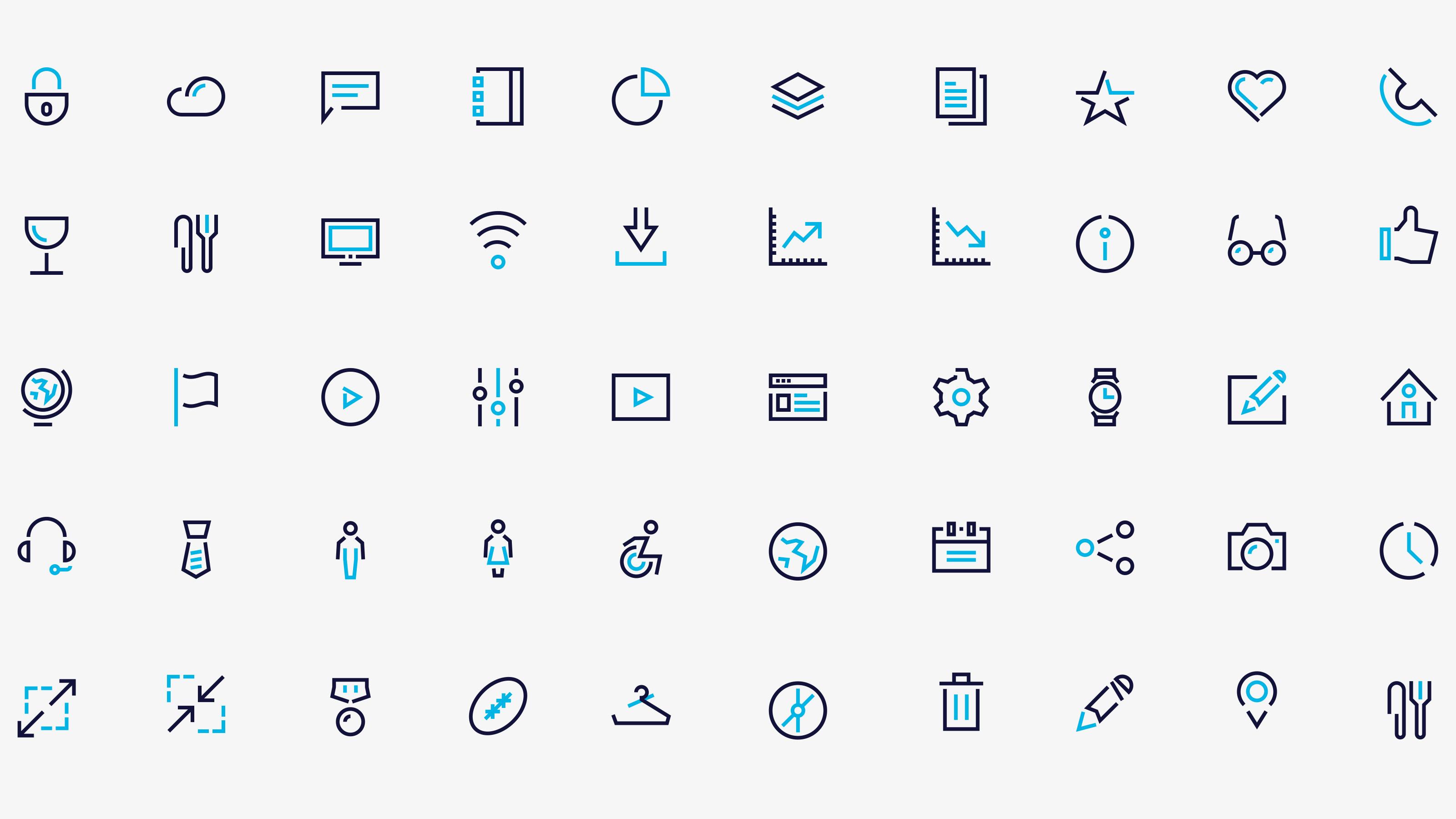 Brand icon pattern Carey