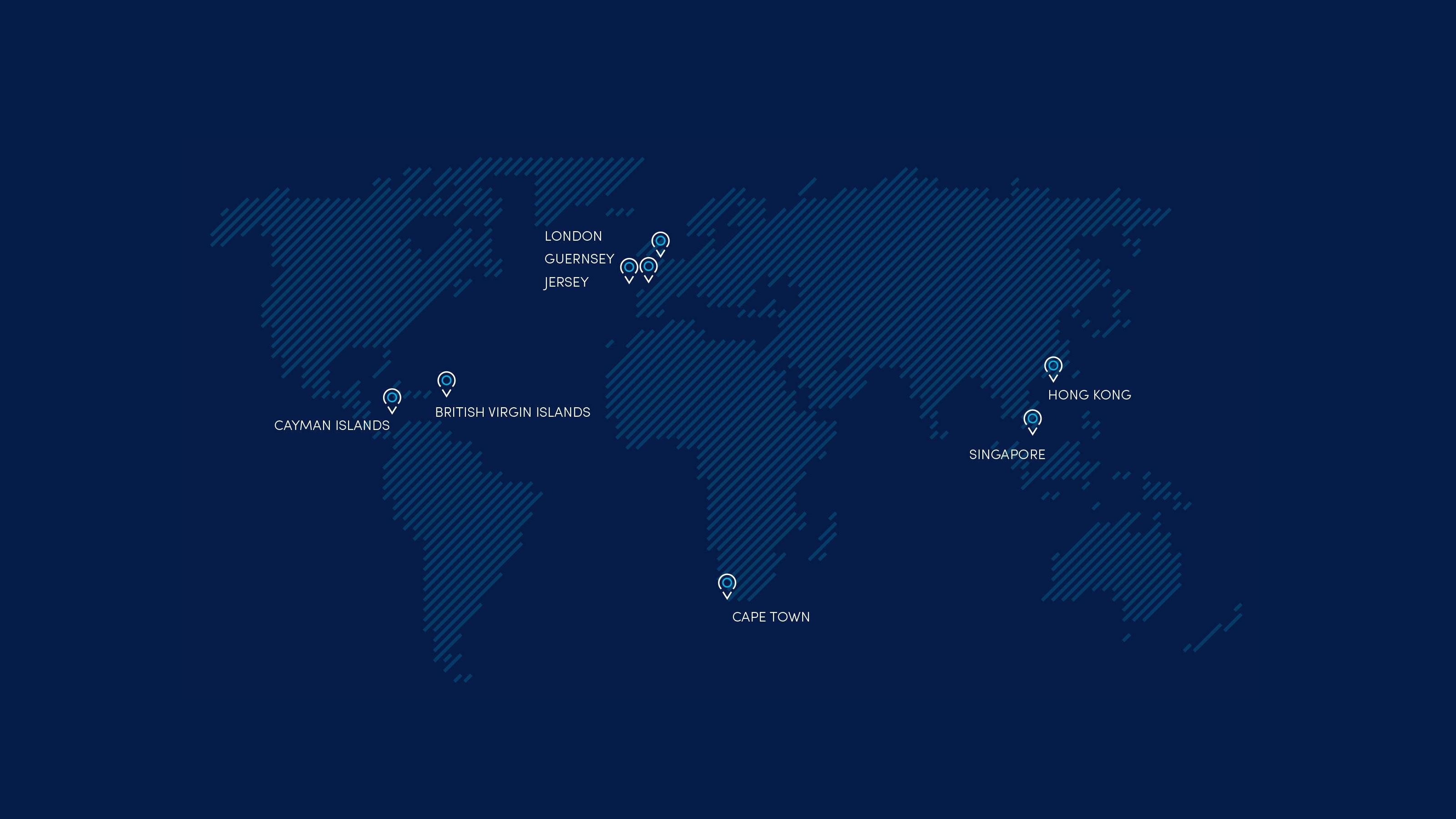Brand world map Carey