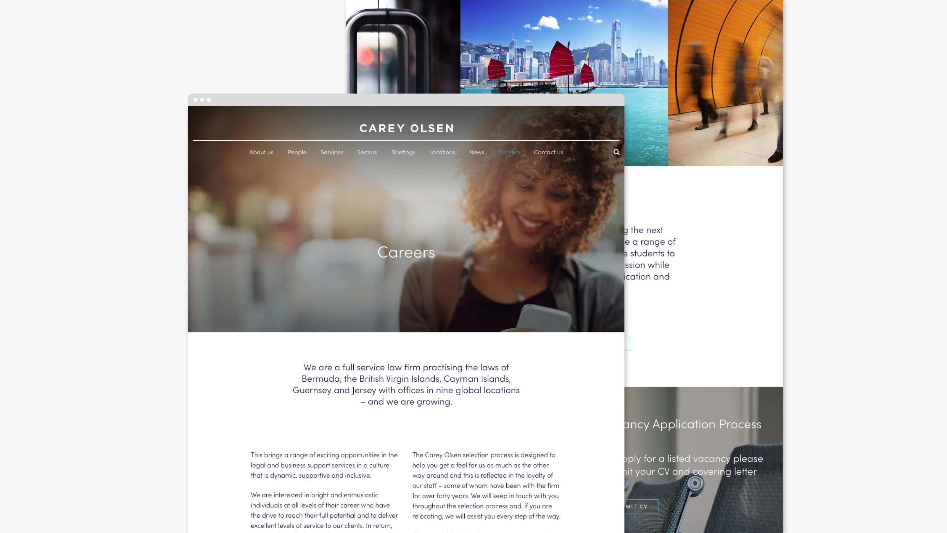 Digital web design Carey