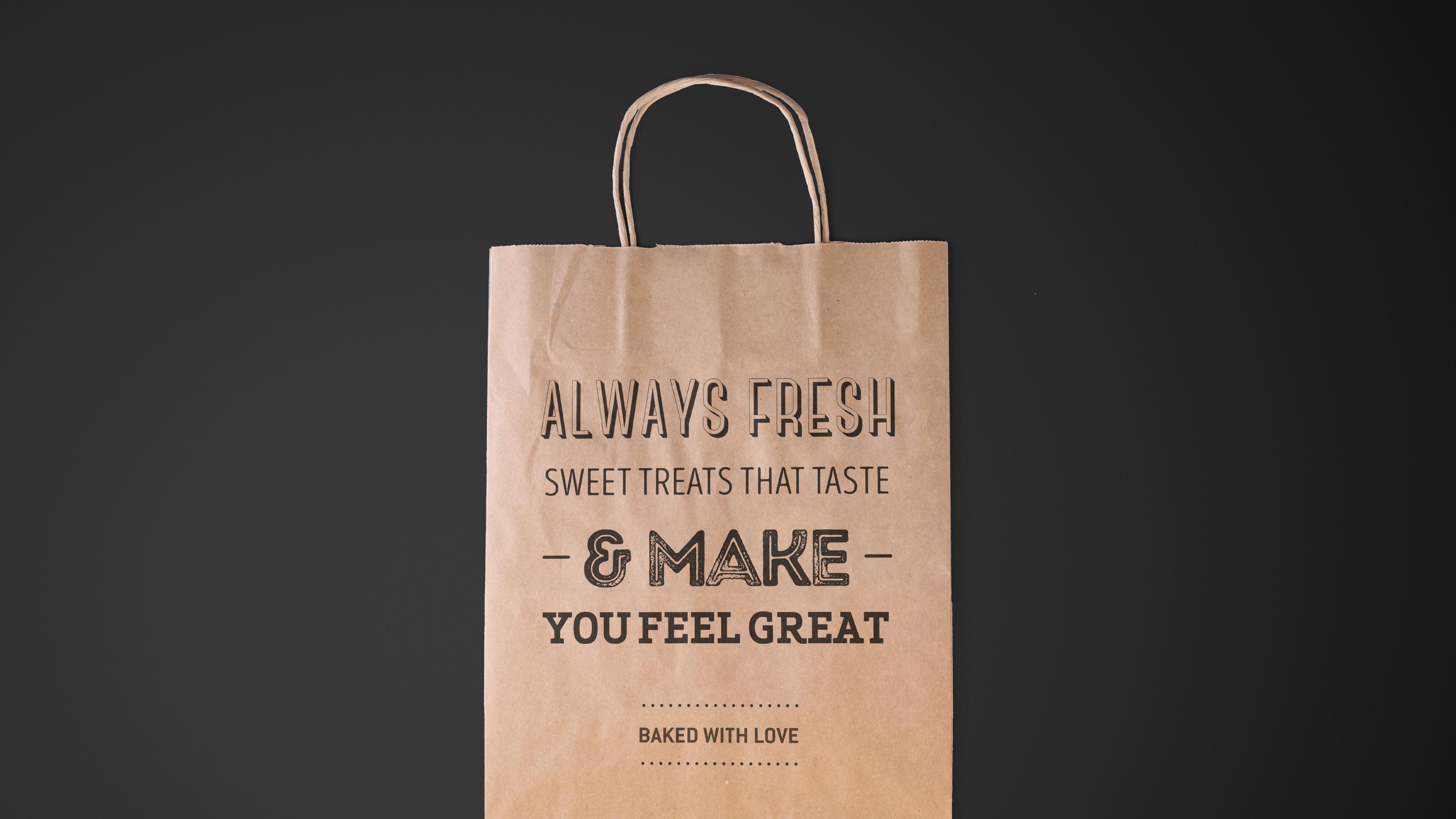 Harrison Branded paper bag