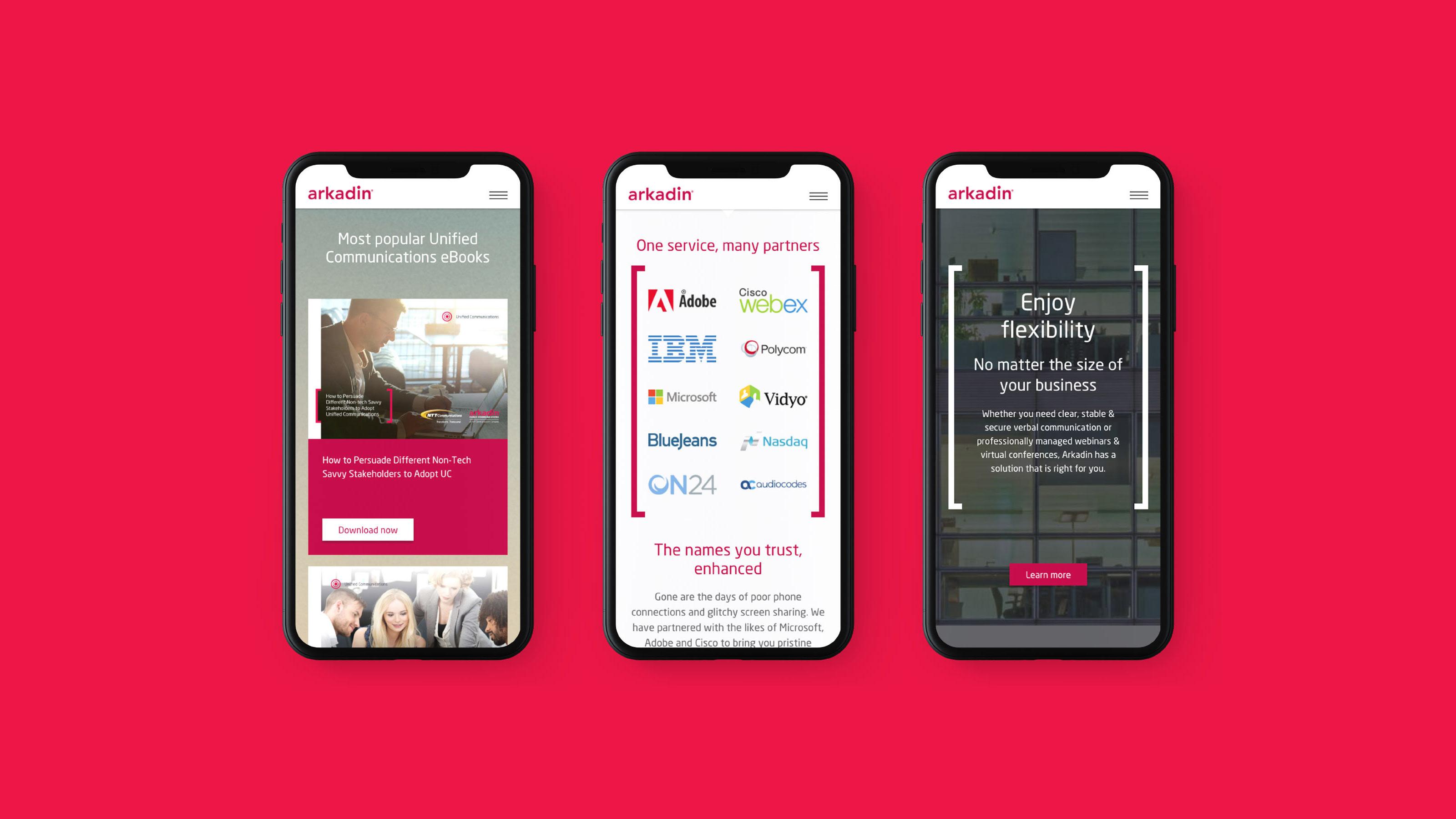 Digital mobile designs Arkadin