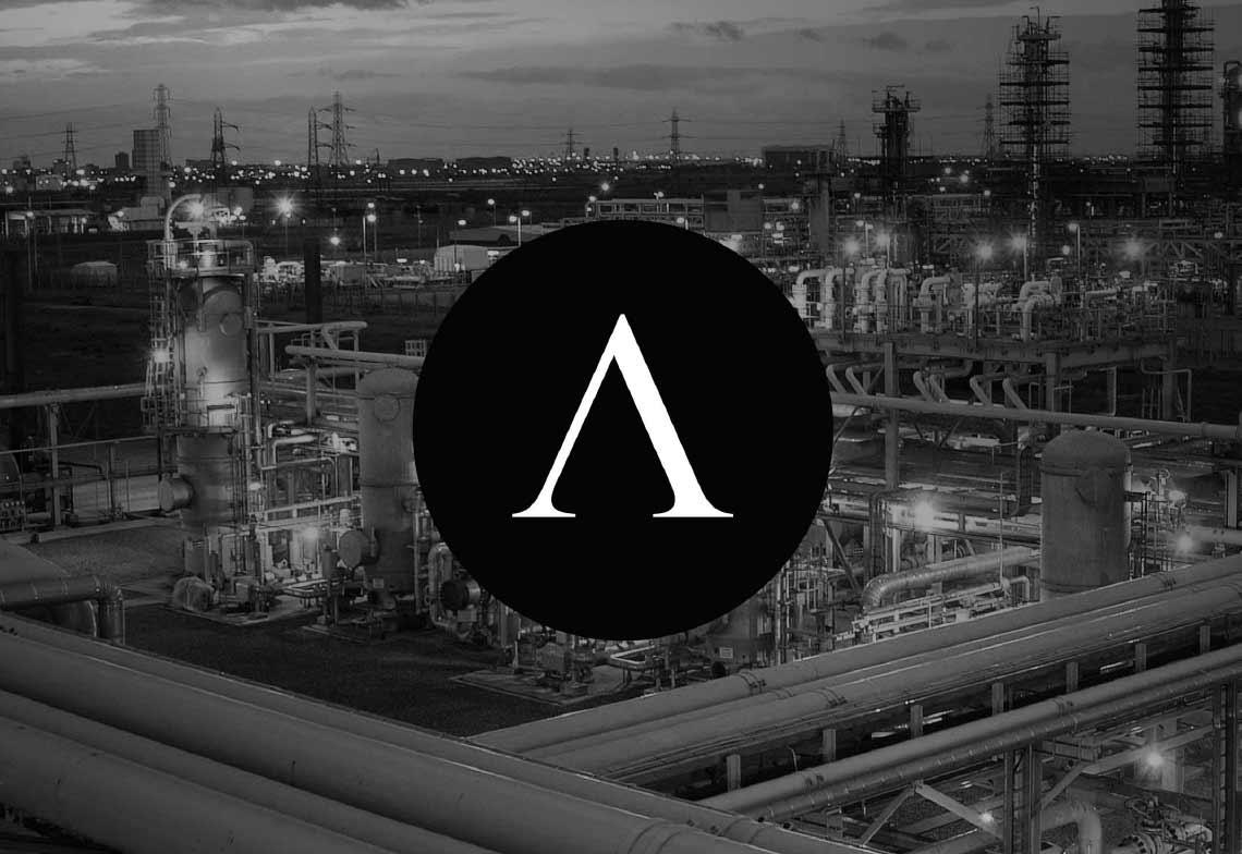 Antin Brand logo cityscape