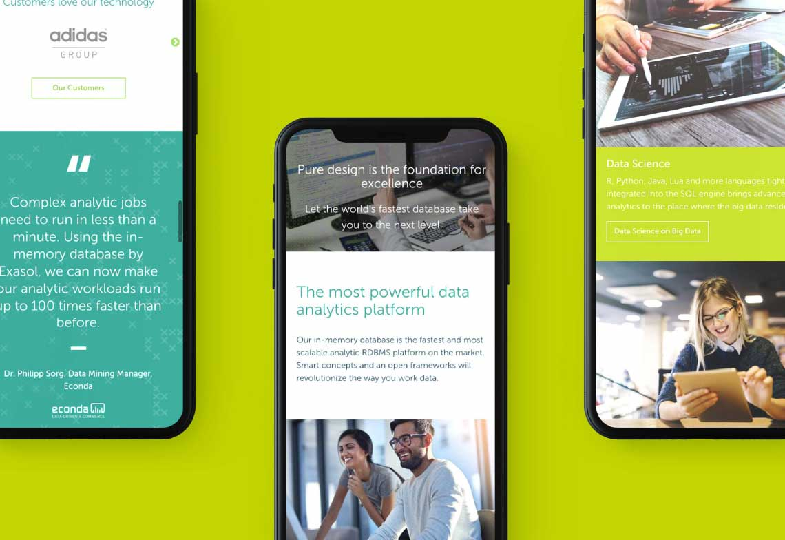 digital mobile design exasol