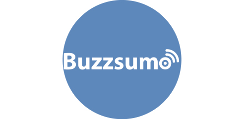 Buzzsumo blue circle logo