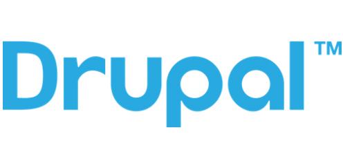 Drupal blue logo