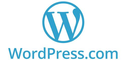 WordPress blue logo