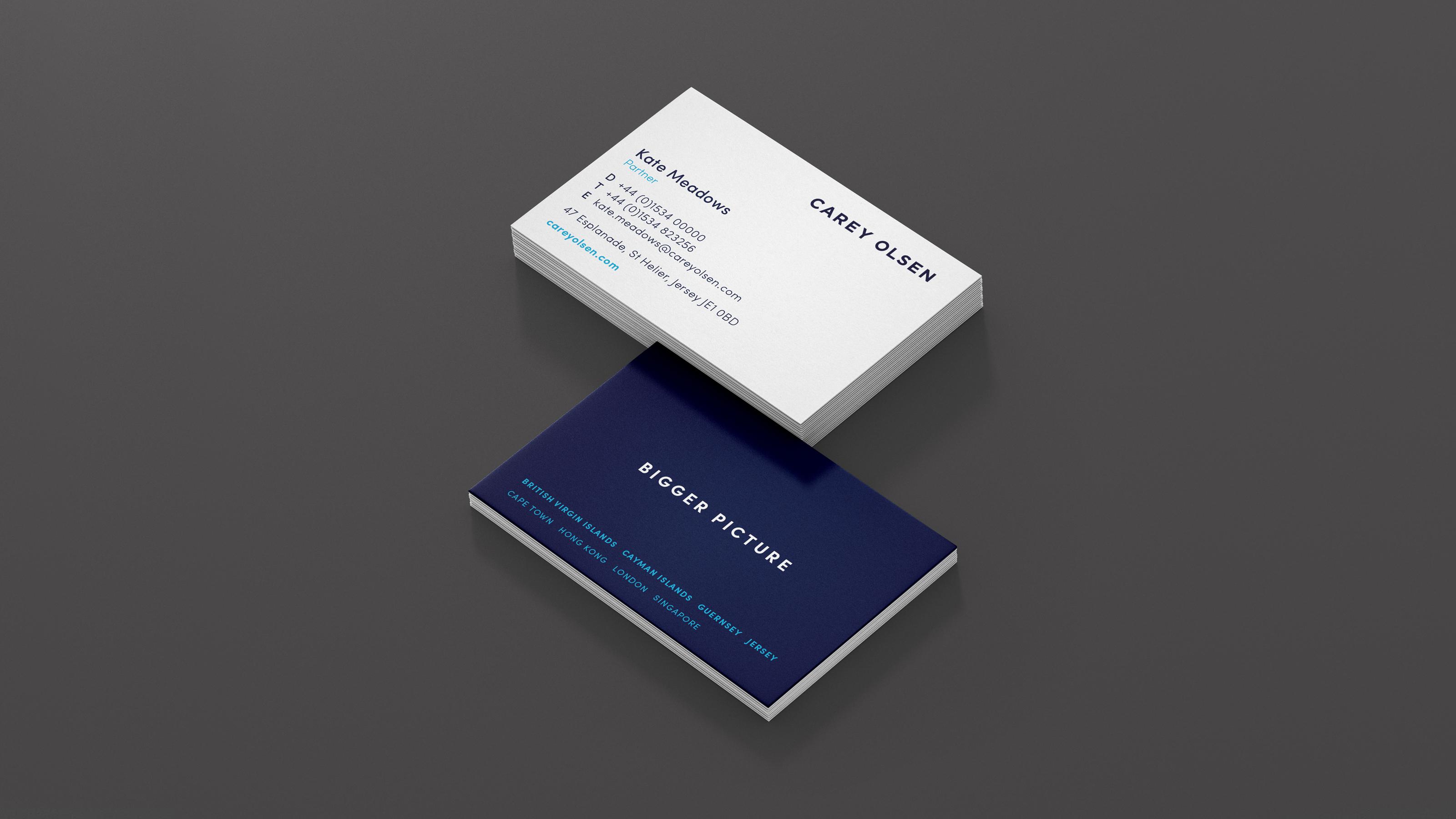 Carey Olsen Business Card