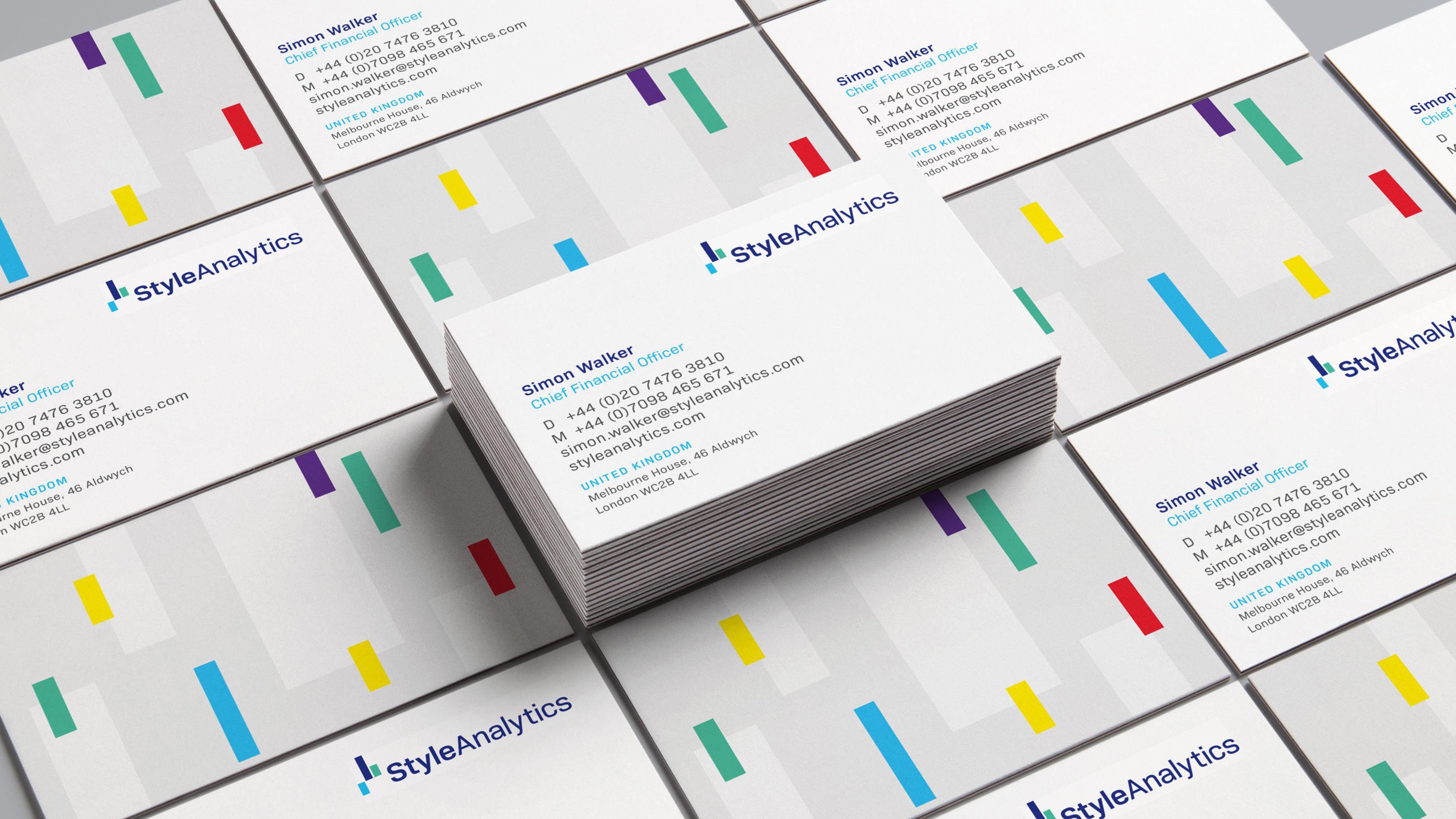 Brand business card StyleAnalytics