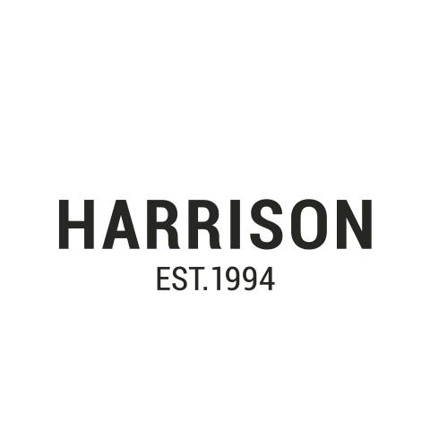 Harrison logo in black