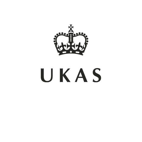 UKAS logo in black