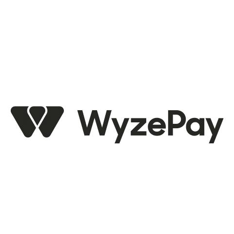 Wyzepay logo in black