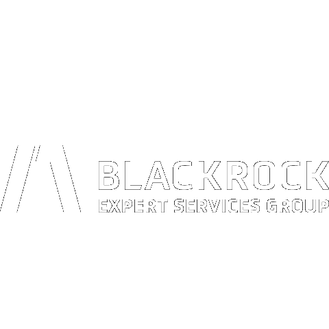 Blackrock logo in white