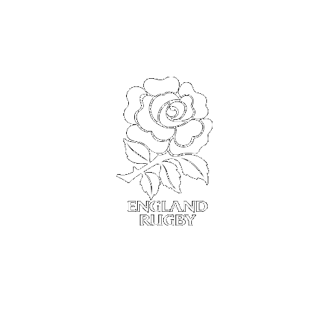 England Rugby logo in white