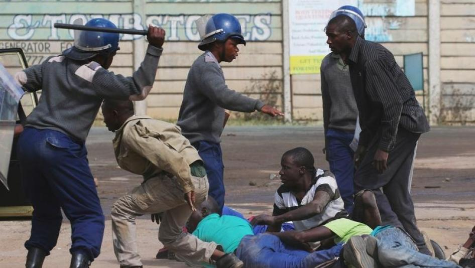 Lawyers want Harare killer cops arrested