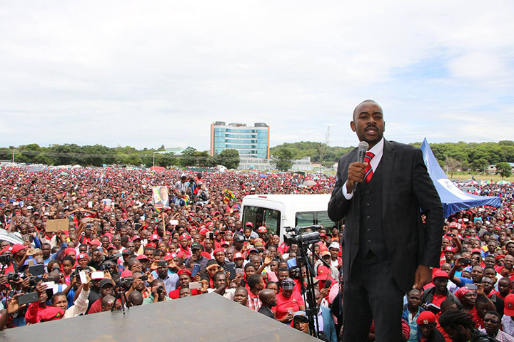 No reforms no poll: Chamisa tells EU crew