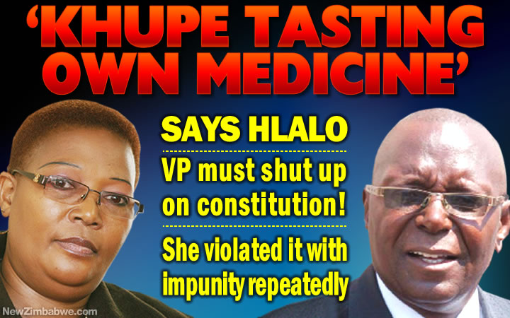 Khupe must shut up! She repeatedly violated party constitution when it suited her – says ex-MDC-T MP