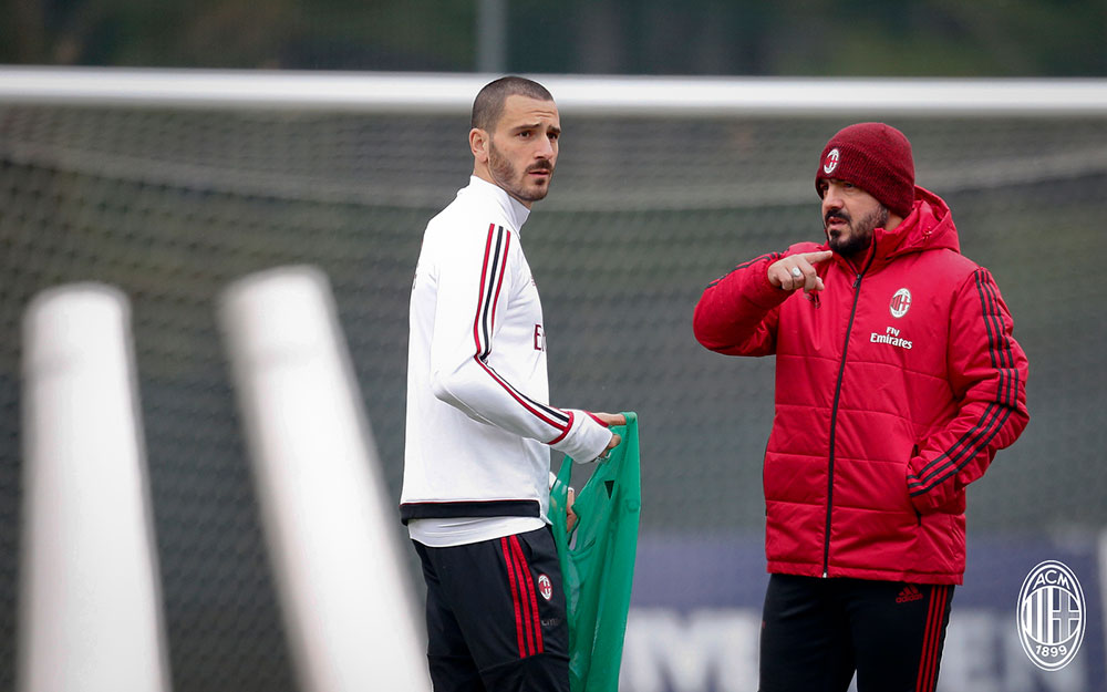 Gattuso calls for cool heads as AC Milan catch fire