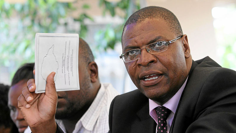 Welshman Ncube says violence is unhelpful