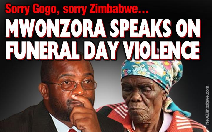 Mwonzora apologises to Tsvangirai's mother, wife and Zim