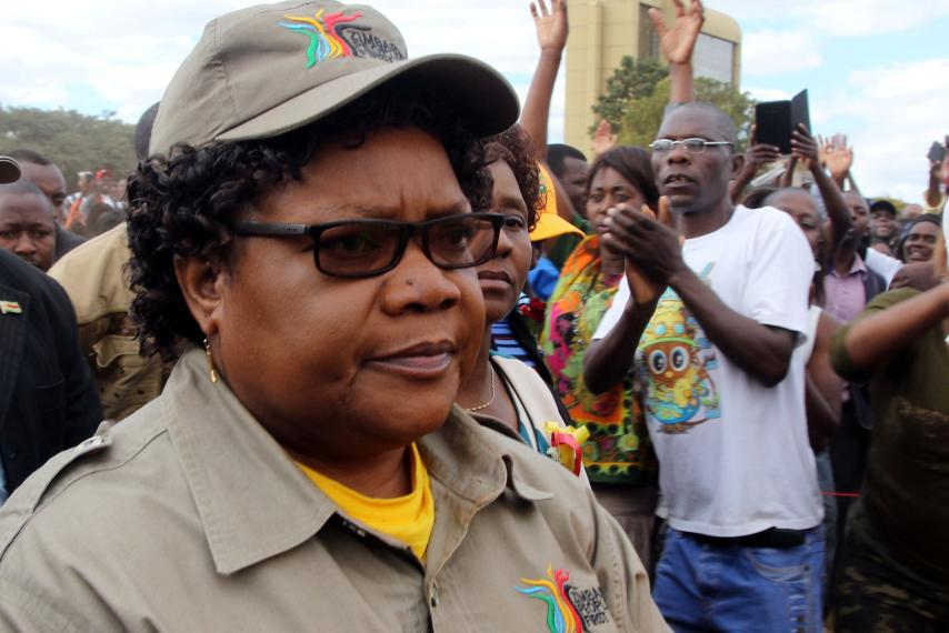 Mujuru's NPP stares collapse as allies stampede to abandon party