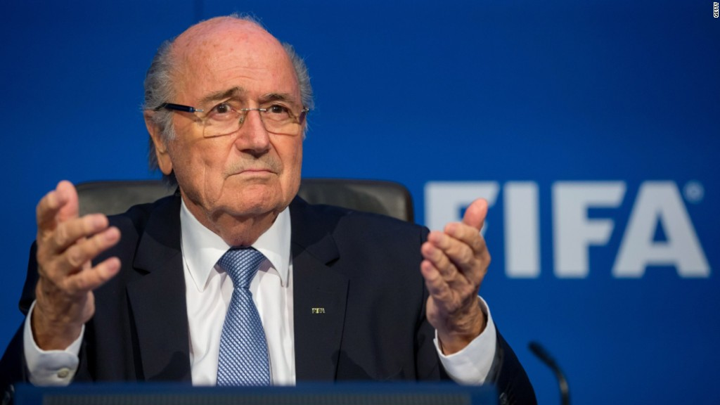 Blatter wants the World Cup to return to Africa in 2026