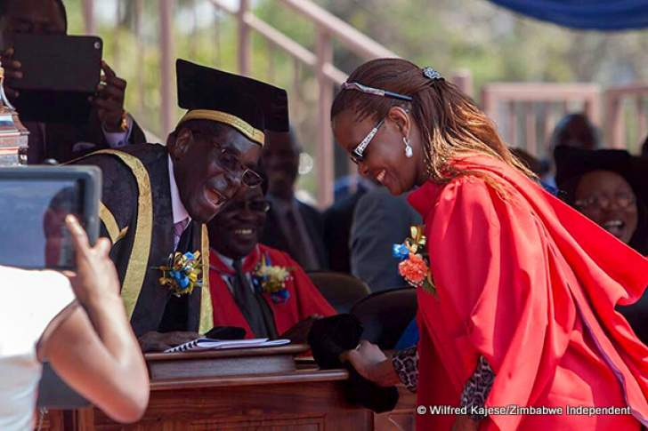 State distances ED, Mugabe from involvement in Grace fake degree