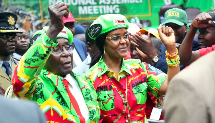 Mixed reactions to Mugabe's death