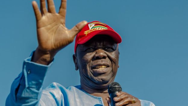 Tsvangirai buried at his rural home