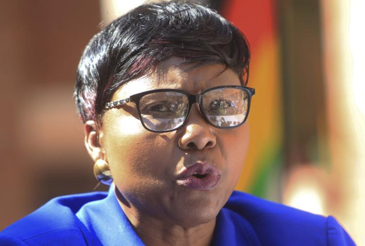 Muchinguri humiliated at Tsvangirai burial, Chamisa to the rescue