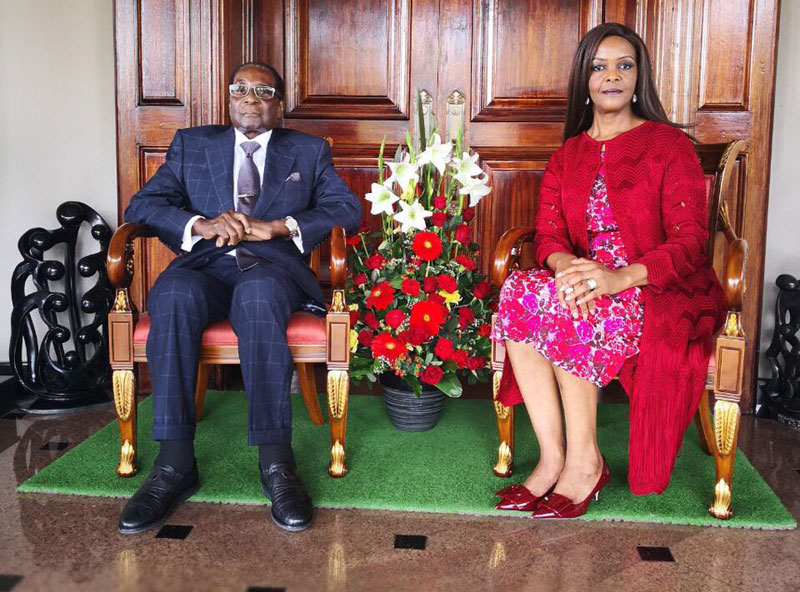 Mugabe happy with his new life – says AU chief