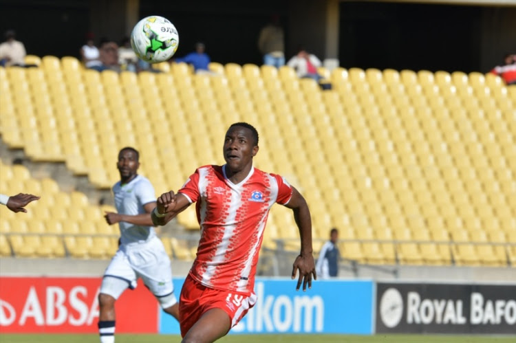 SuperSport United striker Evans Rusike still has Europe in his sights