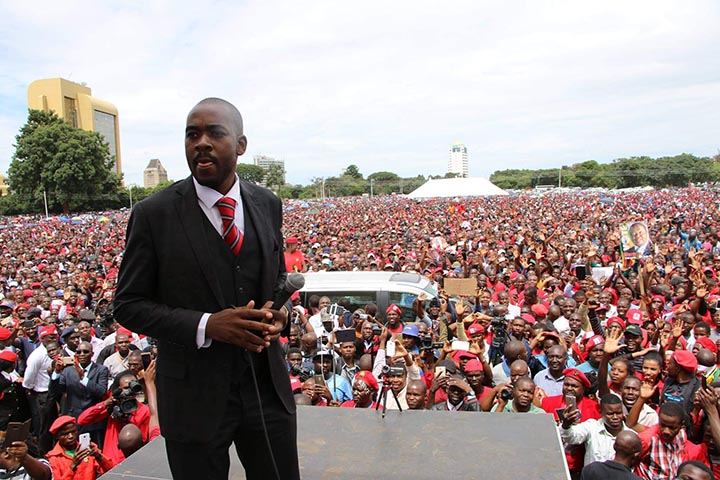 Chamisa says no reforms no polls, prepared to die for free and fair elections