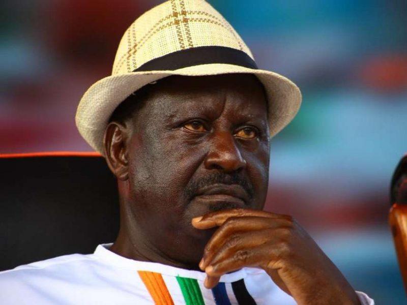 Kenya's Odinga arrives for Tsvangirai burial