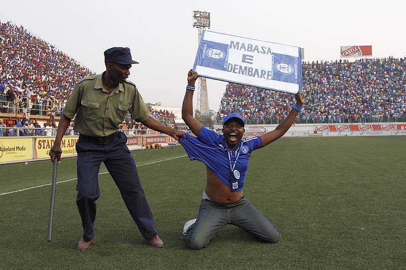 Dynamos youths thump full-strength Caps United