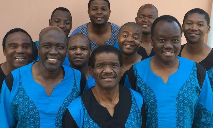 Ladysmith Black Mambazo brings hope and harmony to Music Box