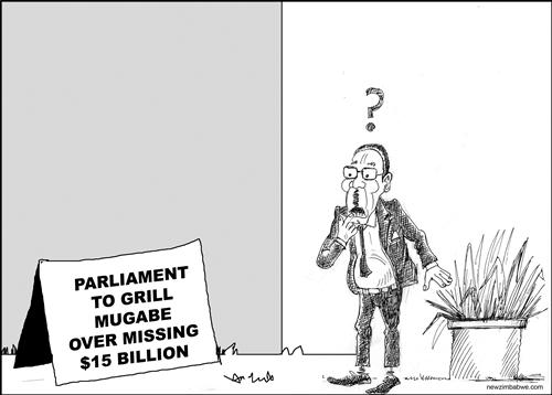Grilling Mugabe