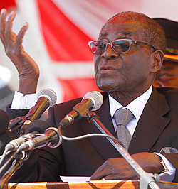Time for West to engage Mugabe