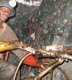 Overregulation strangling small scale miners