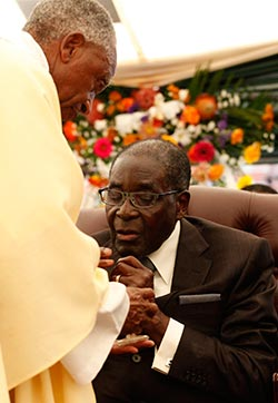 Mugabe's  health God's business