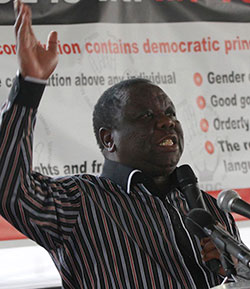 Open letter to MDC President, Morgan Tsvangirai