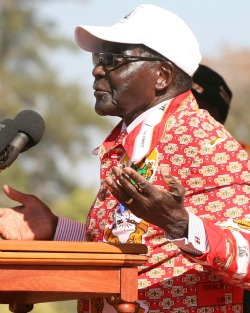 Longevity and bling in court of King Mugabe