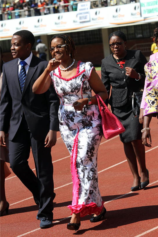 Grace Mugabe, and the Olympics of power in Zimbabwe  With husband unable to outwit the cruelty of time, Grace now taking over … Zim's first couple