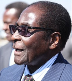Robert Mugabe's last laugh