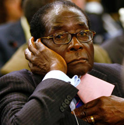 Grace  in charge despite Mugabe denial